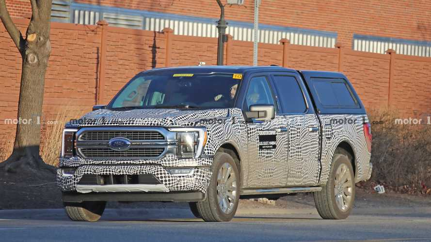 2021 Ford F-150 Hybrid Spy Photos