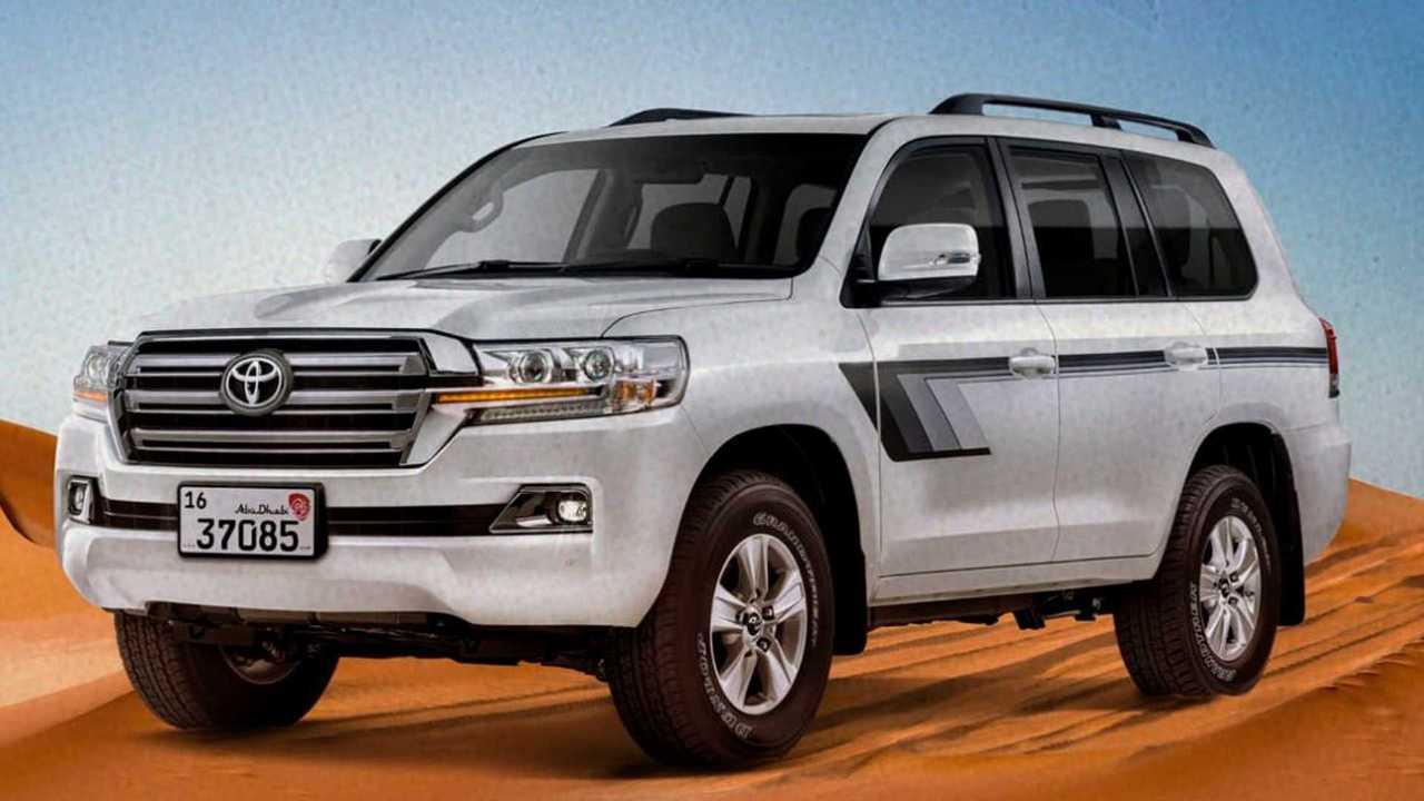 Toyota Land Cruiser Heritage Edition de Emiratos Árabes
