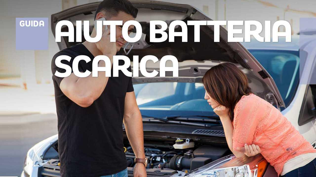Batteria auto scarica, chi chiamare in aiuto se non si hanno gli strumenti