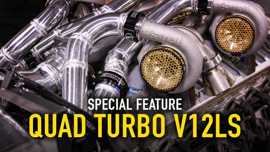 LS V12 Quad Turbo 9.7-Liter Engine Is An Engineering Marvel