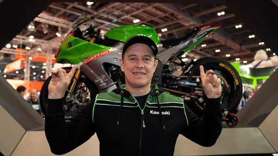 John McGuinness Kawasaki Race Bike For Isle Of Man TT Unveiled