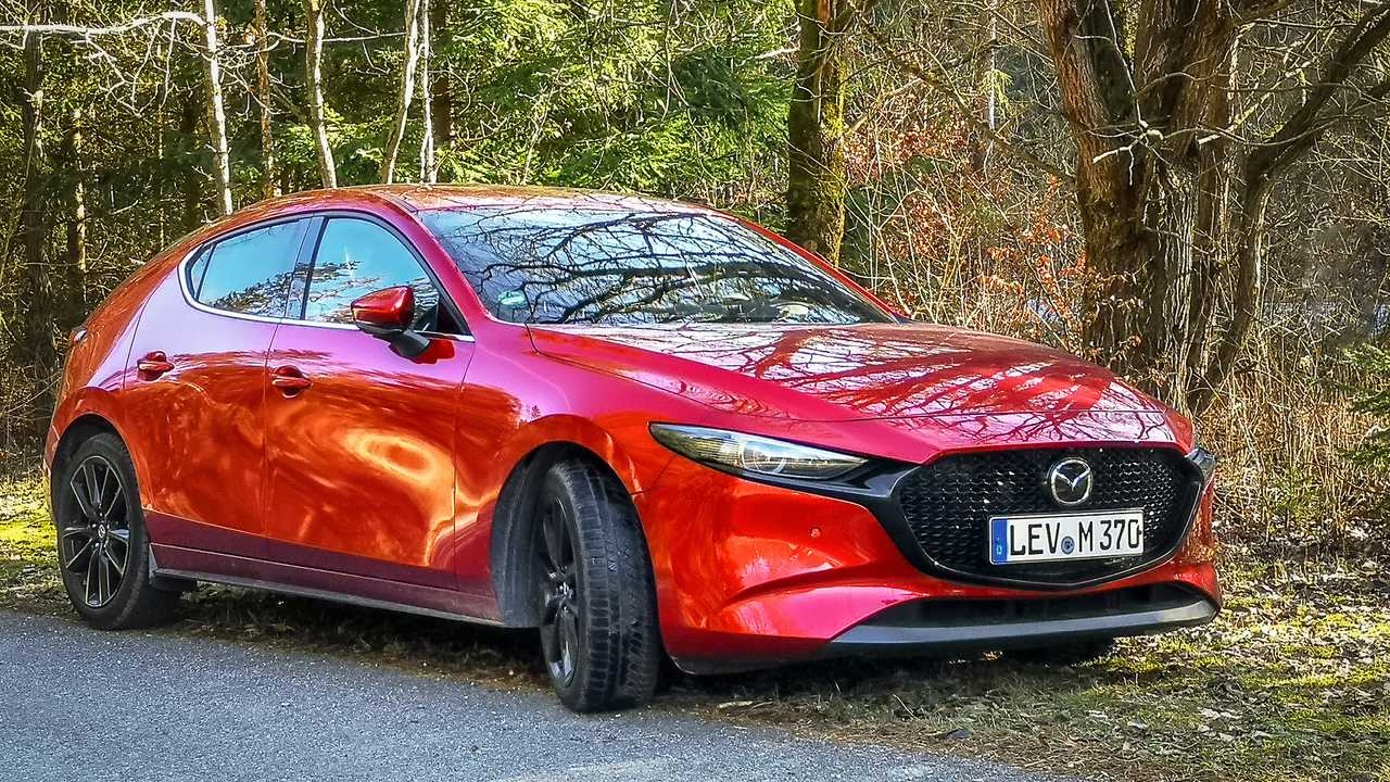 Mazda 3 Skyactiv-X im Motor1-Dauertest, Teil 1