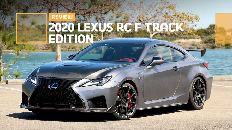 2020 Lexus RC F Track Edition Review: Bark Over Bite