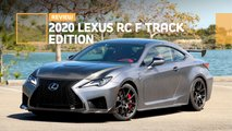 2020 lexus rc f track edition coupe review