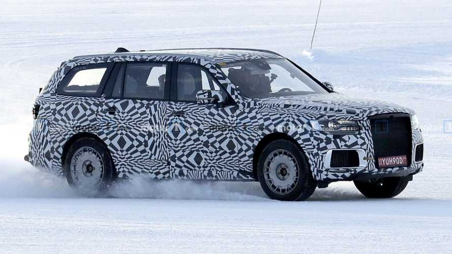 Russia's stately Rolls-Royce Cullinan rival spied testing in Sweden
