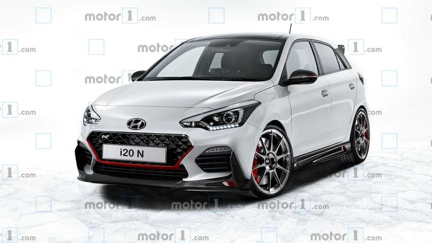 Hot Hyundai i20 N comes to life in virtual rendering