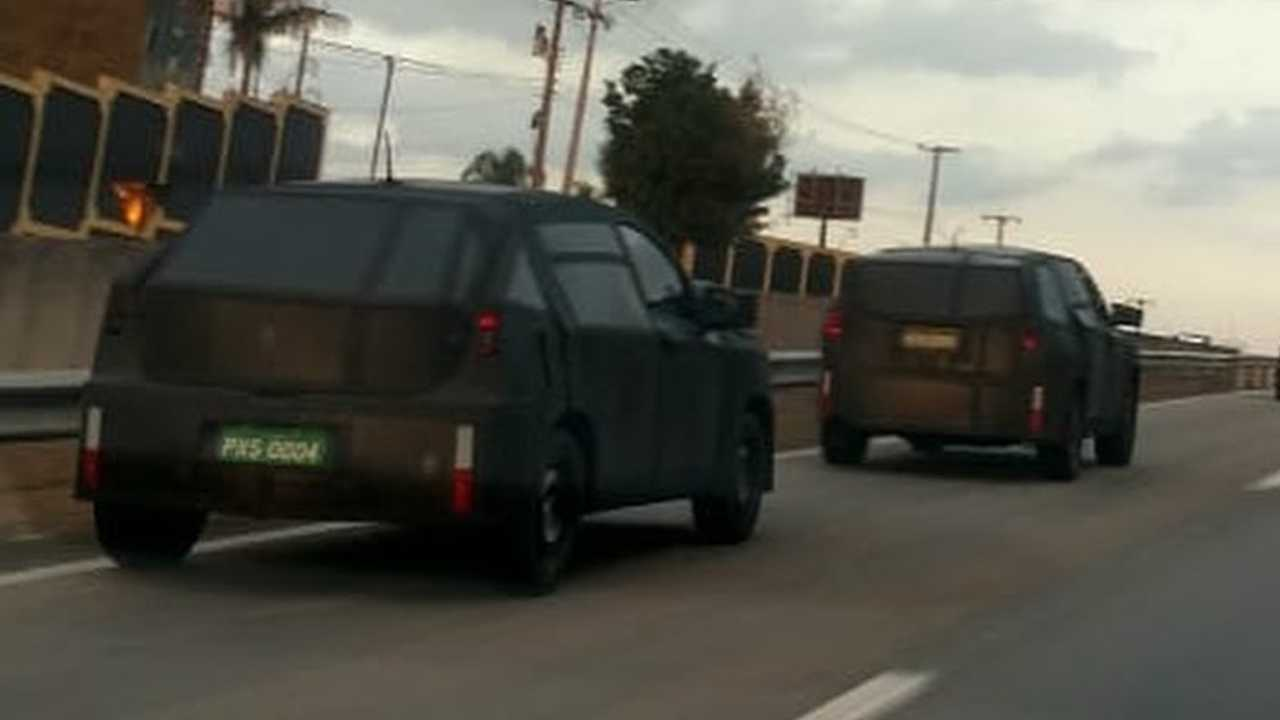 Fiat Argo SUV - Flagra