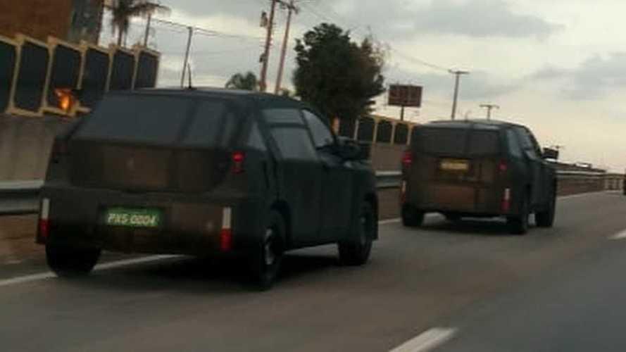 Flagra! SUV da Fiat surge pela 1ª vez (junto com Jeep de 7 lugares)