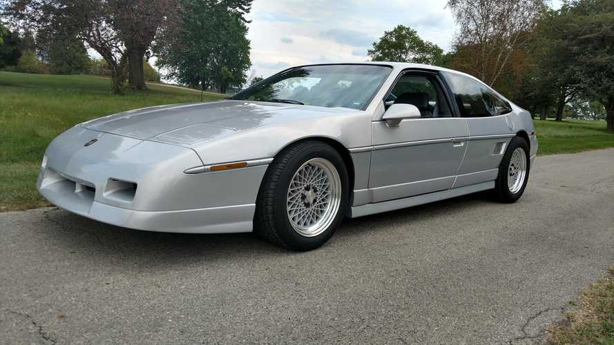 Yes, Pontiac Actually Built A Four-Seater Fiero And Here It Is