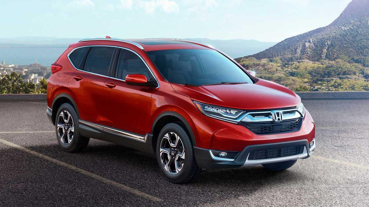 5. Honda CR-V: 384,168 Units