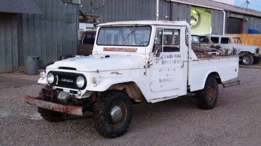Do As You Will With This Barn Find 1966 Toyota FJ45
