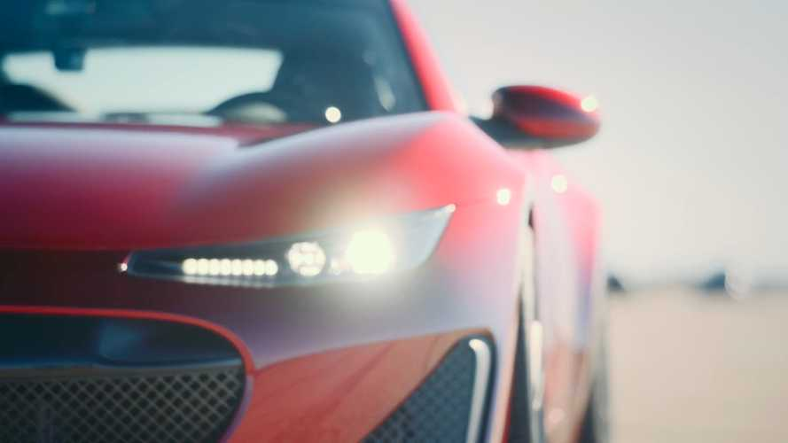 Legendary Lambo Driver Balboni Tames Drako GTE Hyper EV On Track