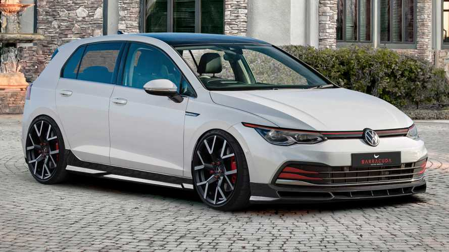 2020 VW Golf 8 gets an angry face from tuner