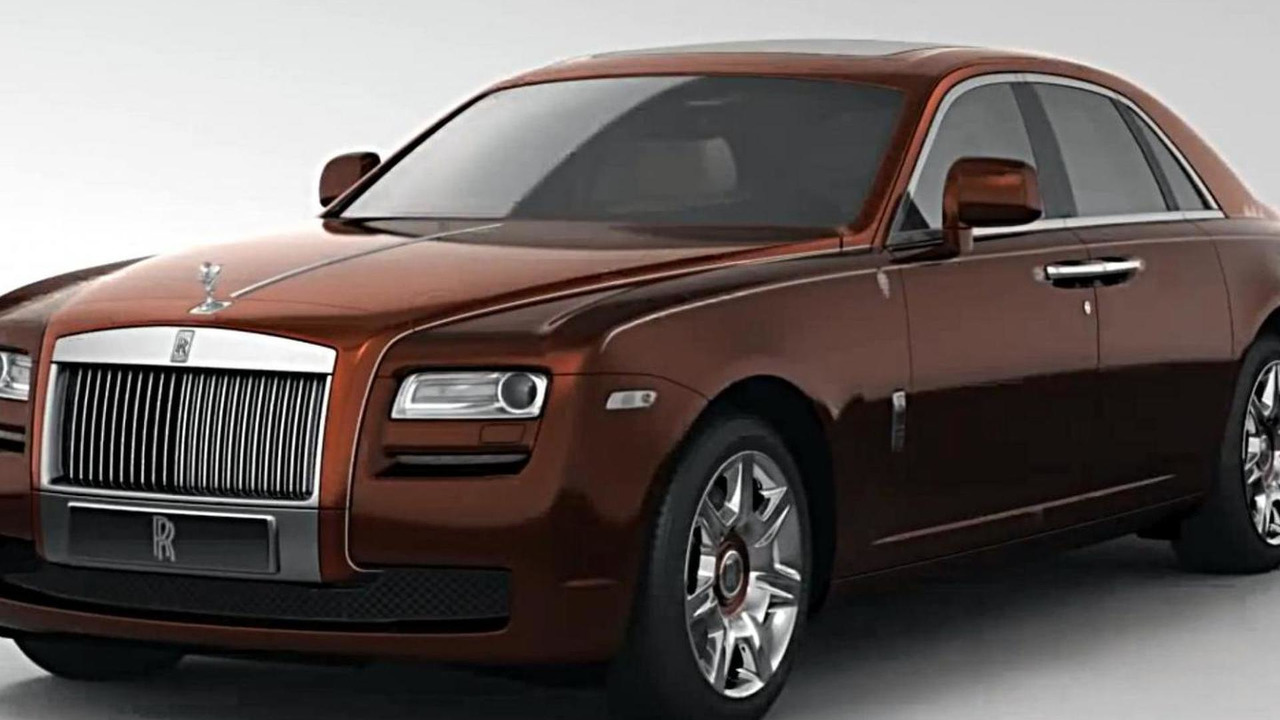 Rolls-Royce Ghost 1001 Nights Edition