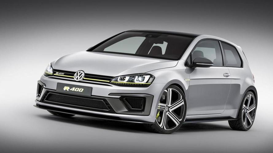 Extreme Volkswagen Golf R 400 concept revealed in Beijing