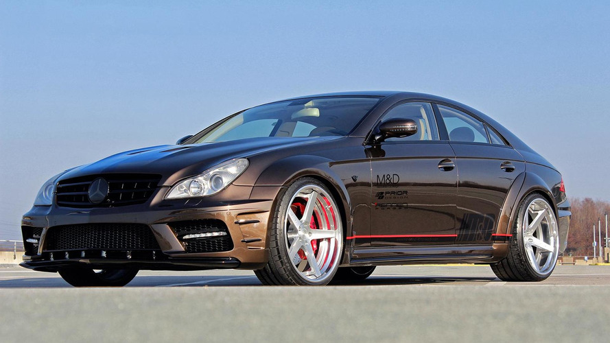Prior Design freshens up the first-gen Mercedes-Benz CLS