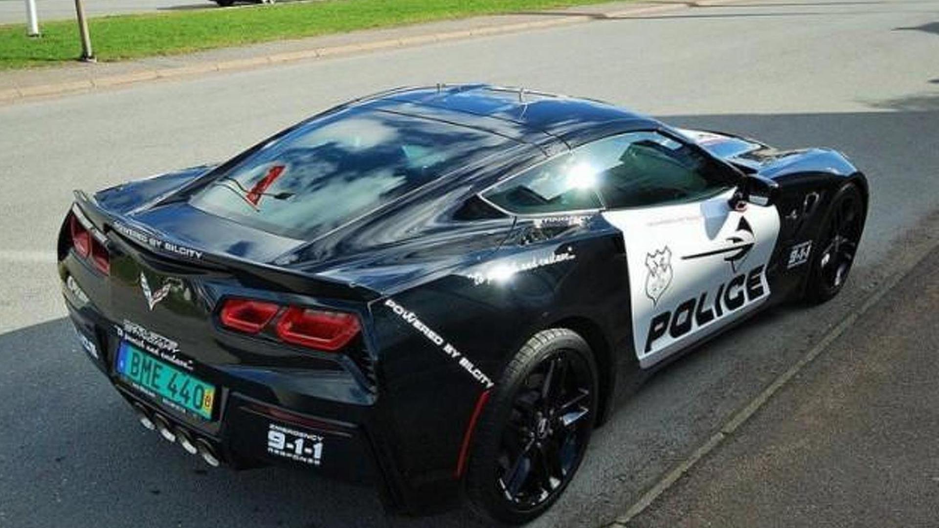 C7 Corvette For Sale >> Chevrolet C7 Corvette Stingray With Police Livery For Sale In Sweden