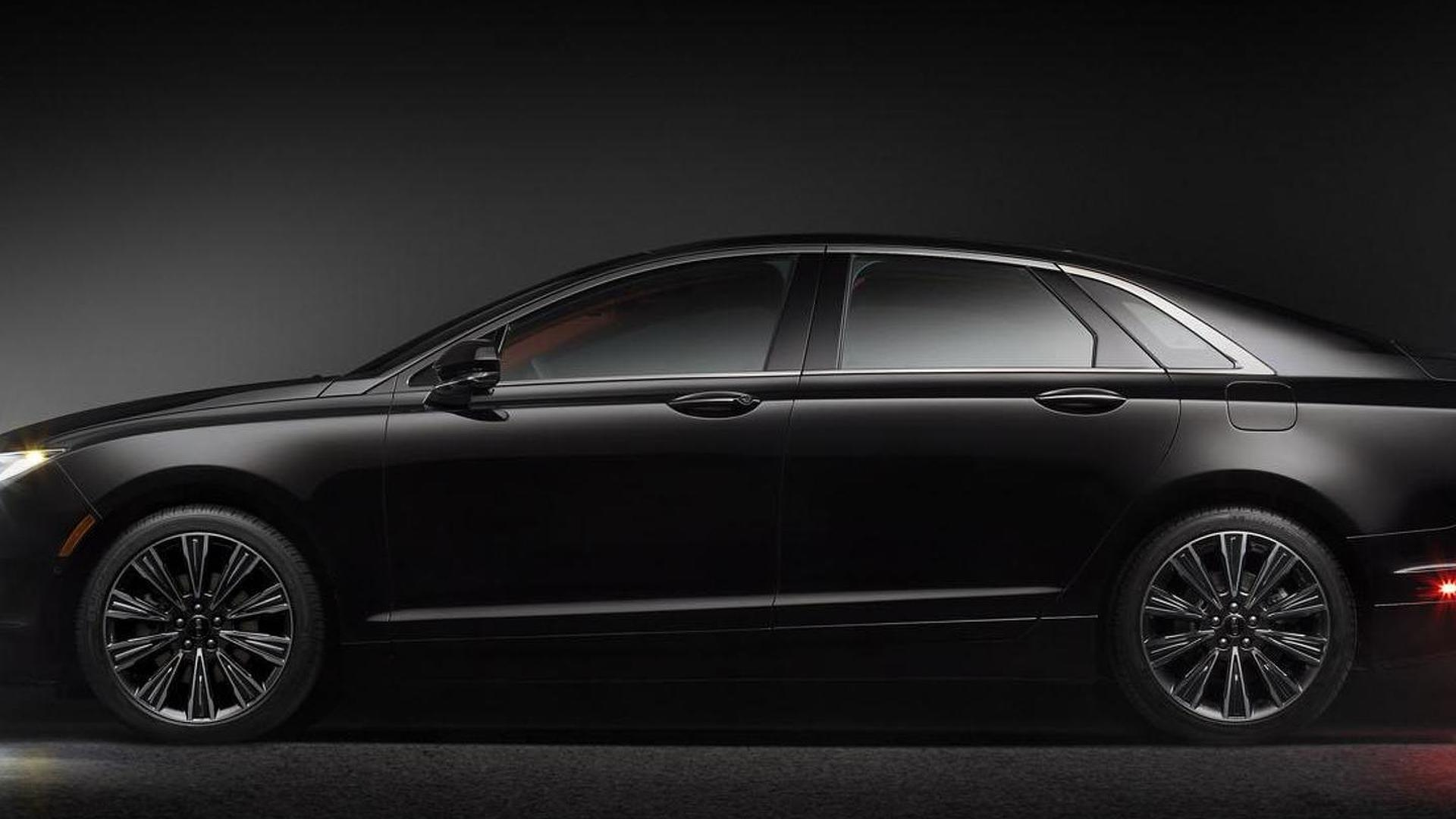 Lincoln Mkz Mkc Black Label Concepts Revealed For Pebble Beach Video