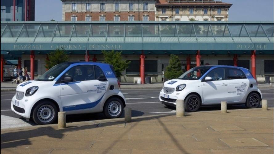 Car sharing, car2go continua a crescere anche in Italia