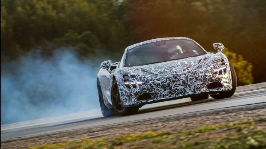 McLaren, un telaio da corsa per la nuova Sport Series