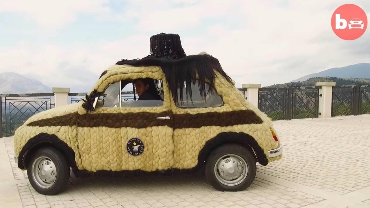 Fiat 500 peludo