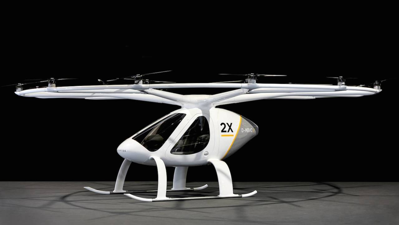 Velocopter Flying Taxi
