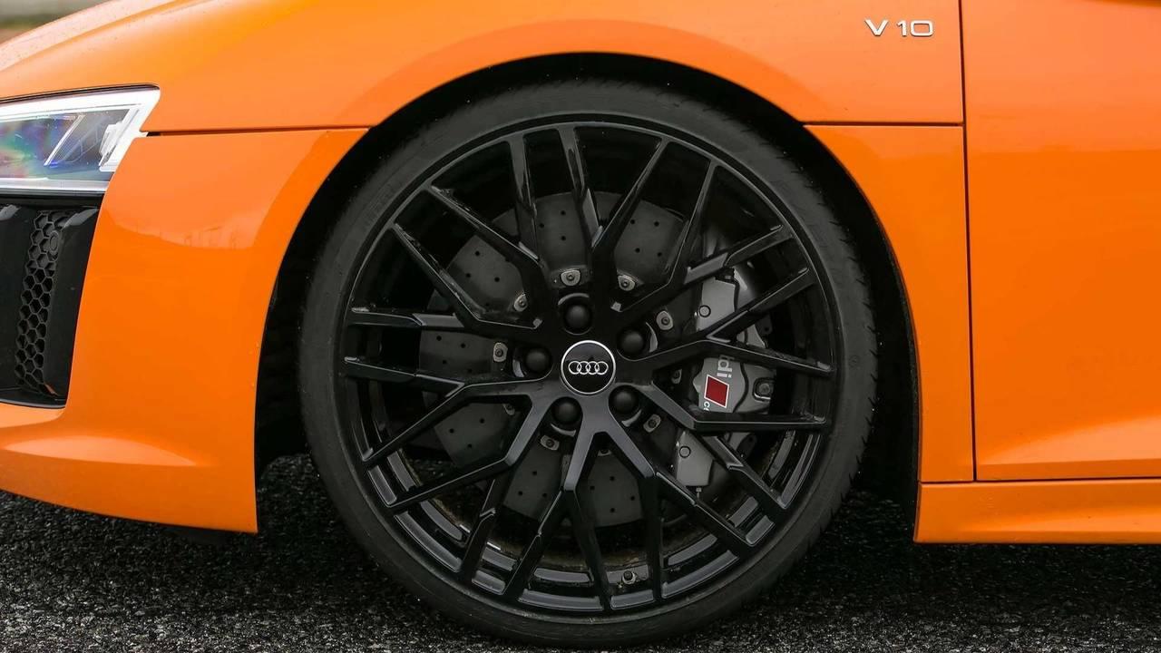 Audi R8, frenos carbocerámicos