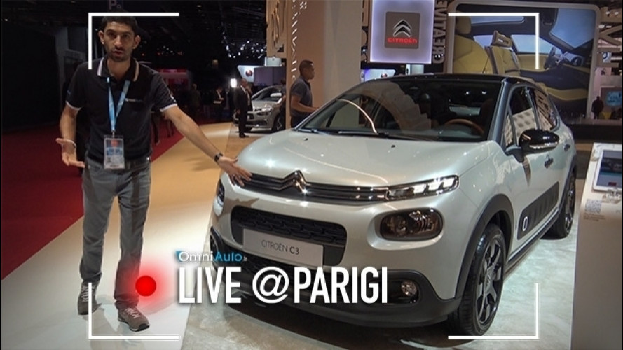 Salone di Parigi, la Citroen C3 è una compatta crossover [VIDEO]