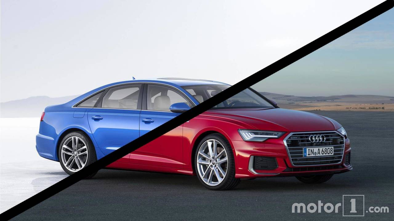 Audi A6 Side-By-SIde