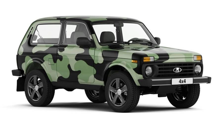Lada 4x4 Special Wrap