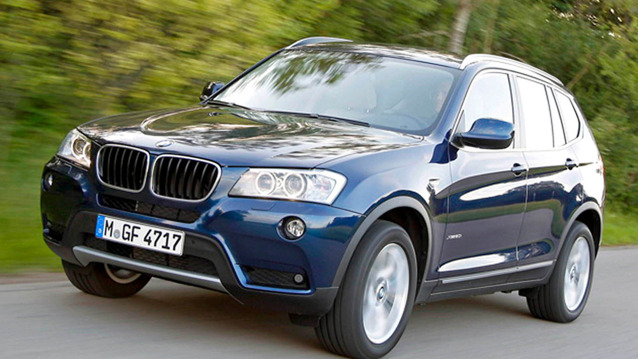 Platz 3: BMW X3