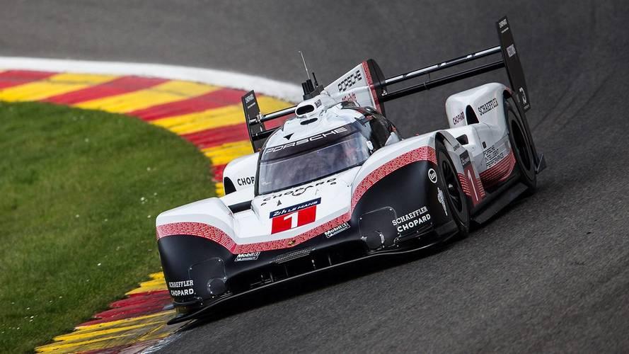 ¡Porsche supera el récord de la F1 en Spa con el 919 LMP1!