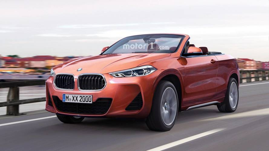 BMW X2 Cabrio New Rendering