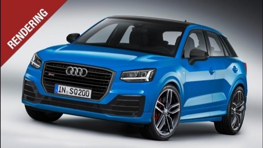 Audi SQ2, la piccola si arrabbia