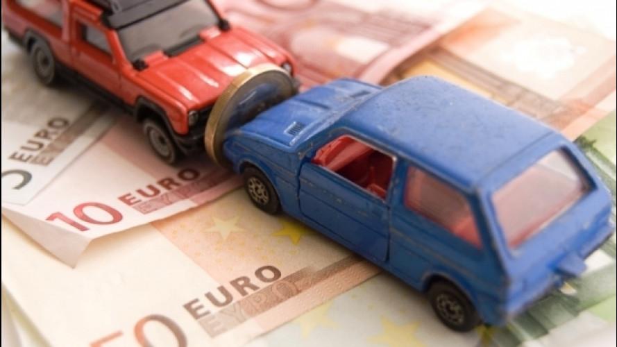 Rc auto, il prezzo medio è di 425 euro