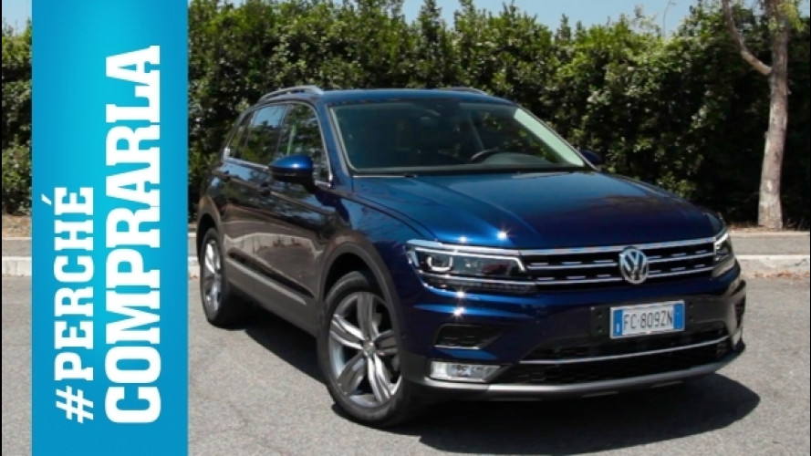 Volkswagen Tiguan, perché comprarla… e perché no [VIDEO]