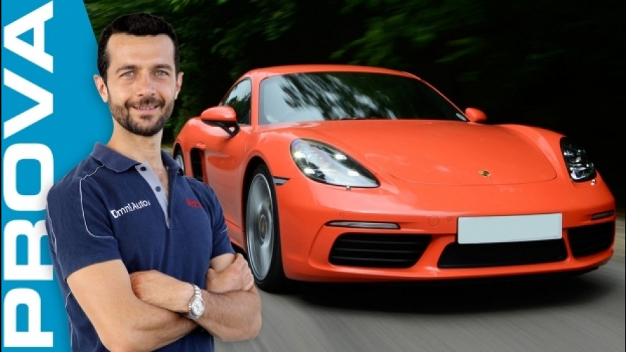 "Porsche 718 Cayman, ""l'equilibrista"" [VIDEO]"