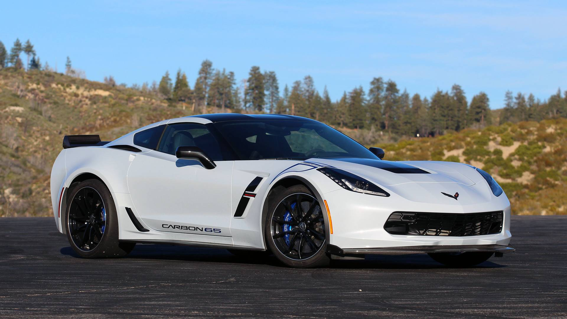 2018 Chevy Corvette Grand Sport Review Already Special No Stickers Required