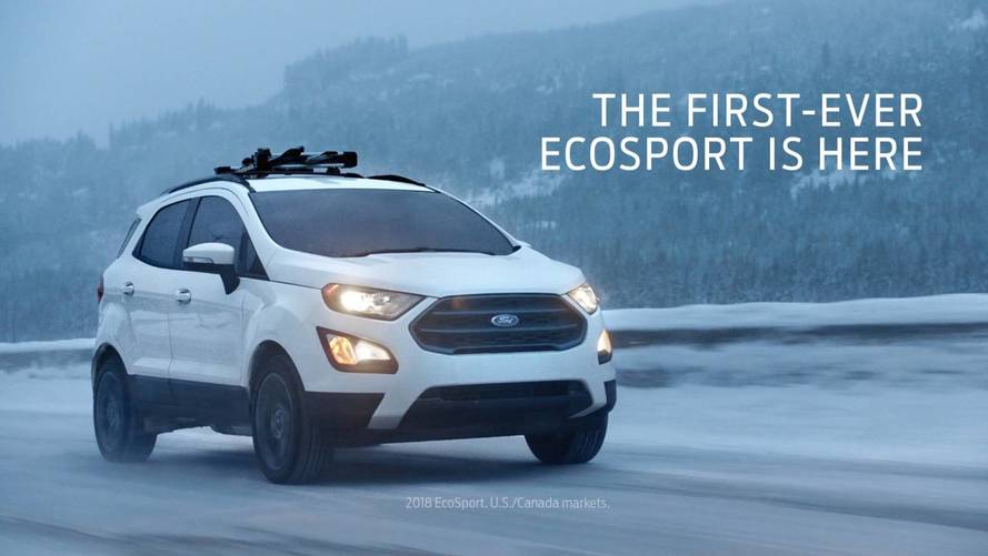 Ford EcoSport, Expedition Star In Olympic-Themed Ads [UPDATE]
