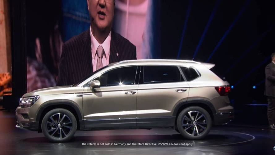 VW Powerful Family SUV