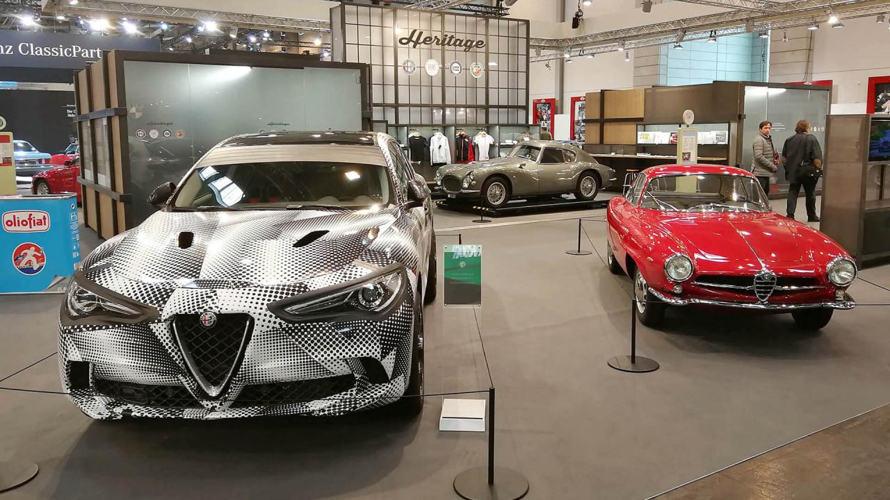 Techno Classica 2018: Gegenwart und Vergangenheit bei Alfa Romeo