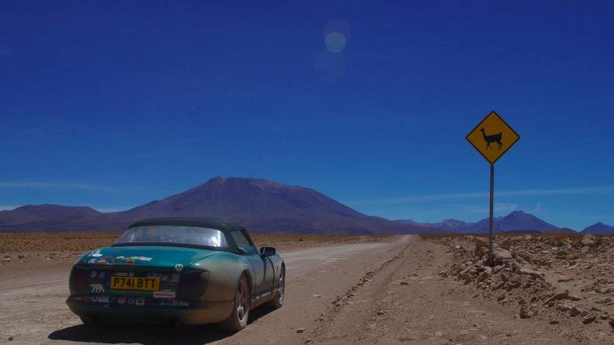 20,000 miles in a TVR