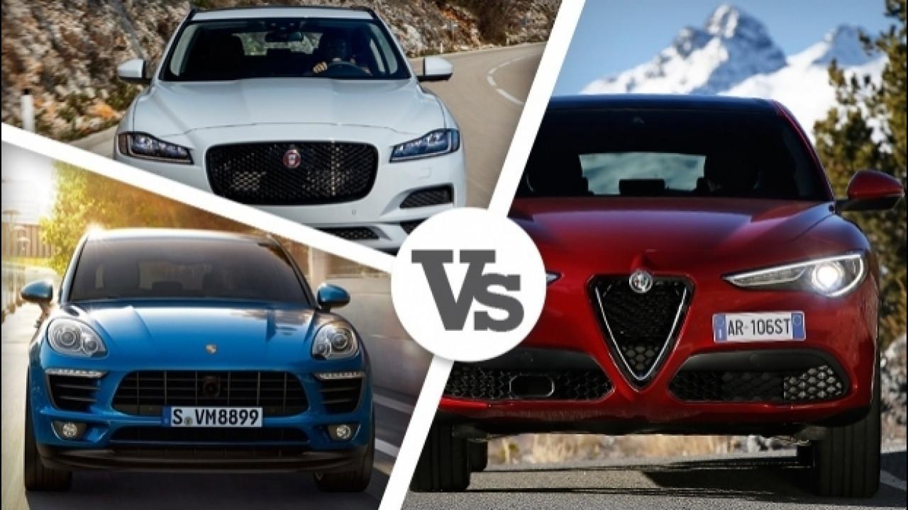 [Copertina] - Alfa Romeo Stelvio 2.2 Diesel, tutte le rivali a gasolio