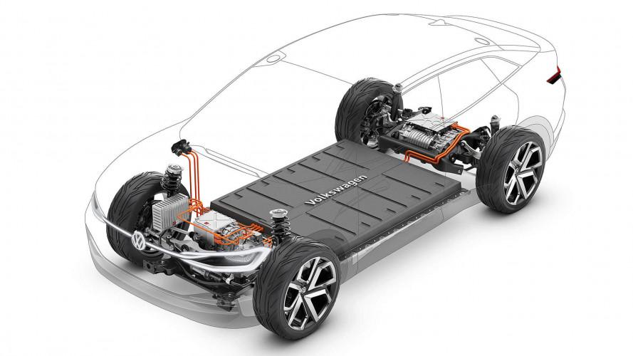 Volkswagen I.D. Vizzion, la berlina elettrica su piattaforma MEB
