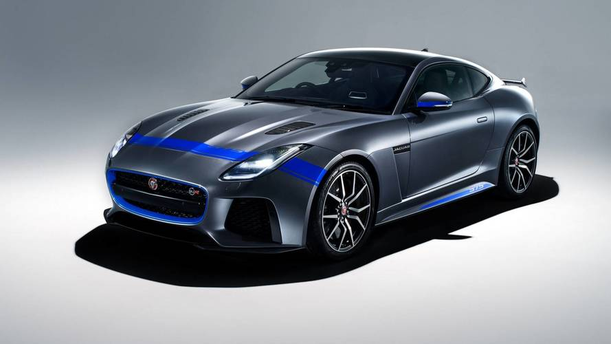 Jaguar F-Type SVR 2018 con Graphic Pack