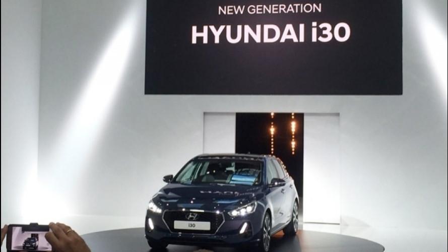 Nuova Hyundai i30, così attacca la concorrenza