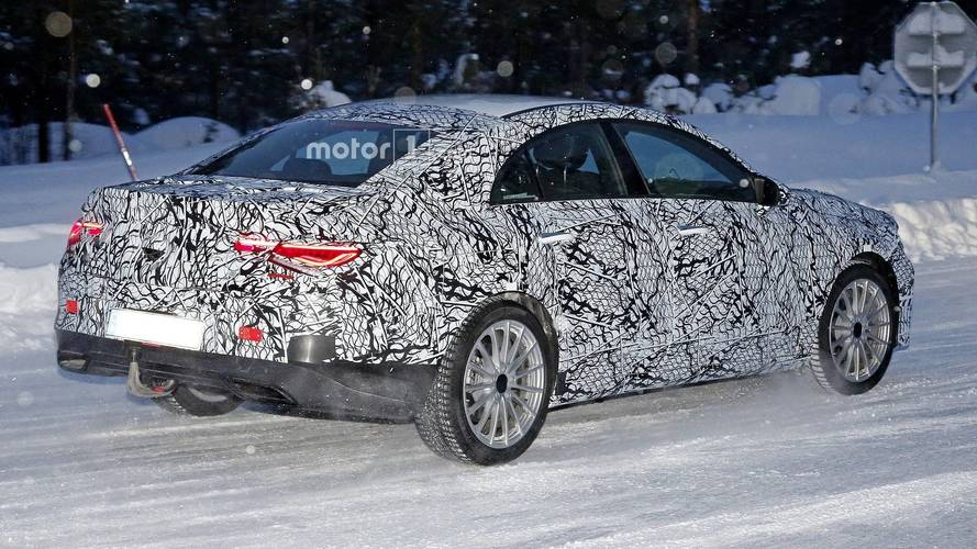 2019 Mercedes CLA spy photo