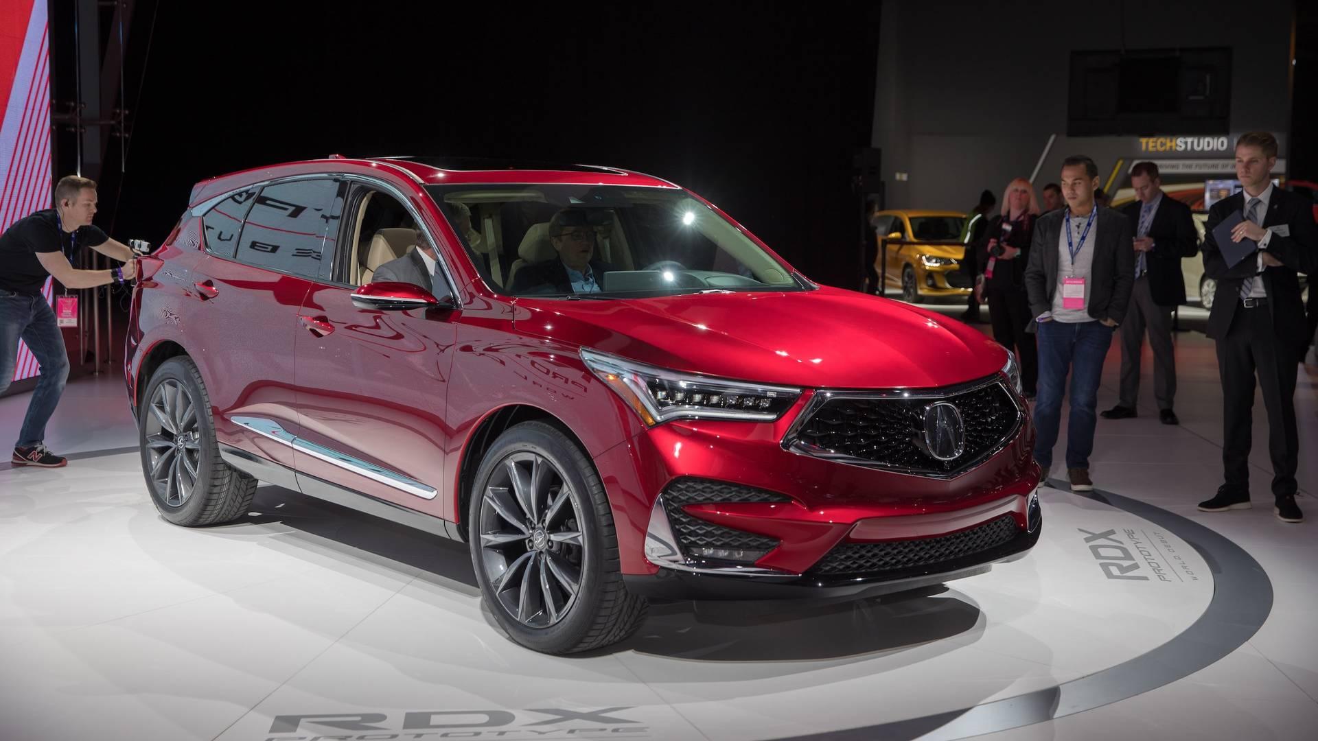 2019 Acura RDX: News, Changes >> 2019 Acura Rdx Prototype Packs More Power More Luxury