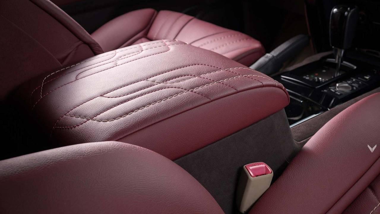 Toyota Land Cruiser Gets Red Leather Makeover From Vilner