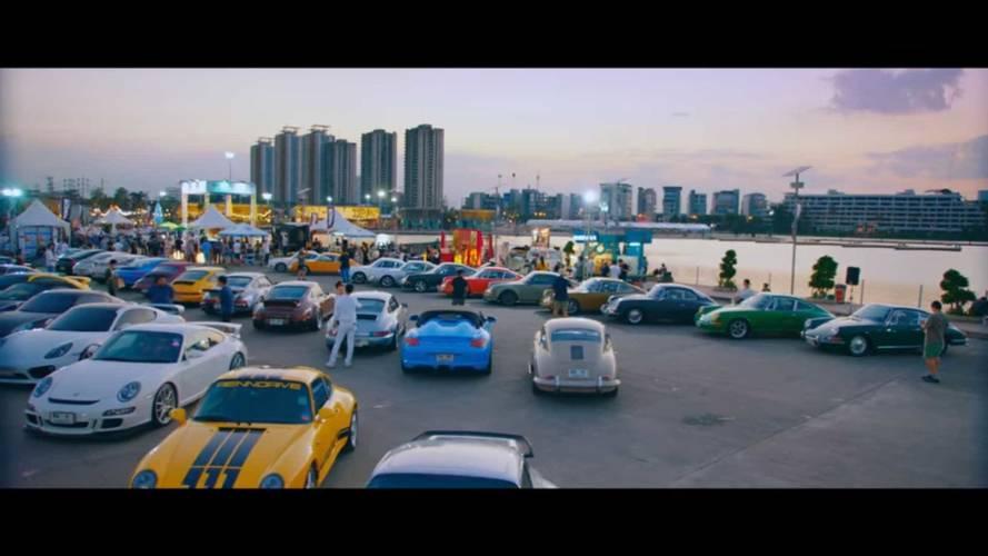 Remek kis Porsche-találkozót tartottak Thaiföld fővárosában